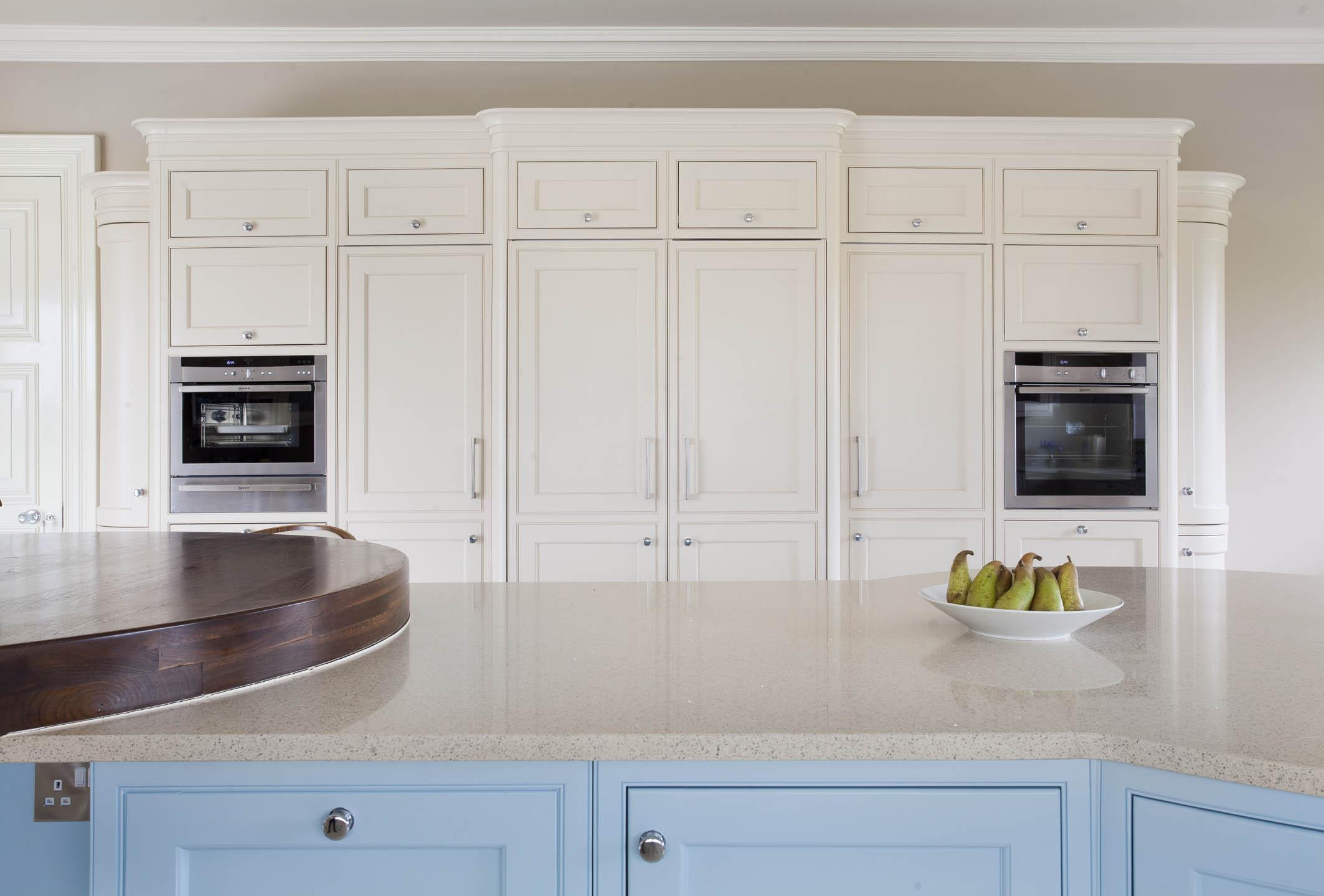 Luxury Handmade Kitchen Handpainted In Blue And Cream