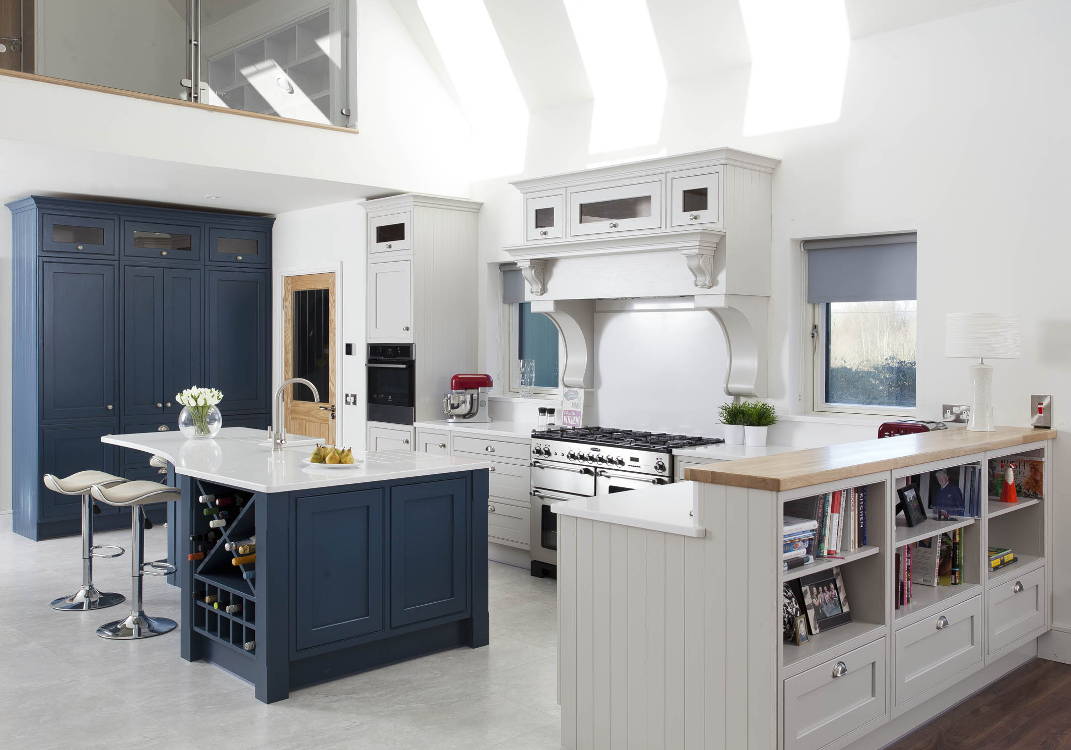 Classic Style Inframe Painted Kitchen Laois