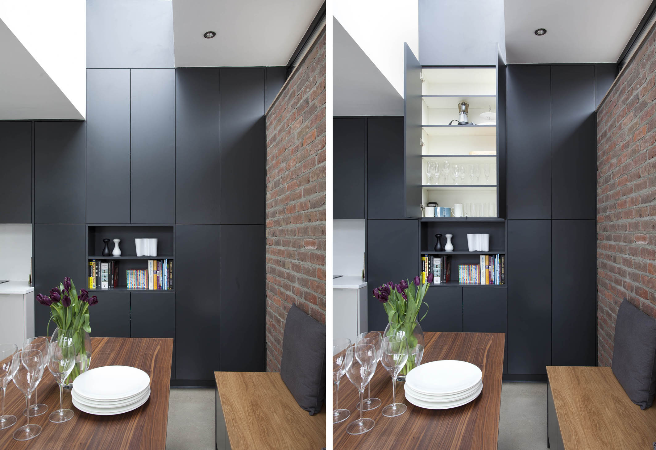 contemporary german style dublin kitchen handmade and painted in