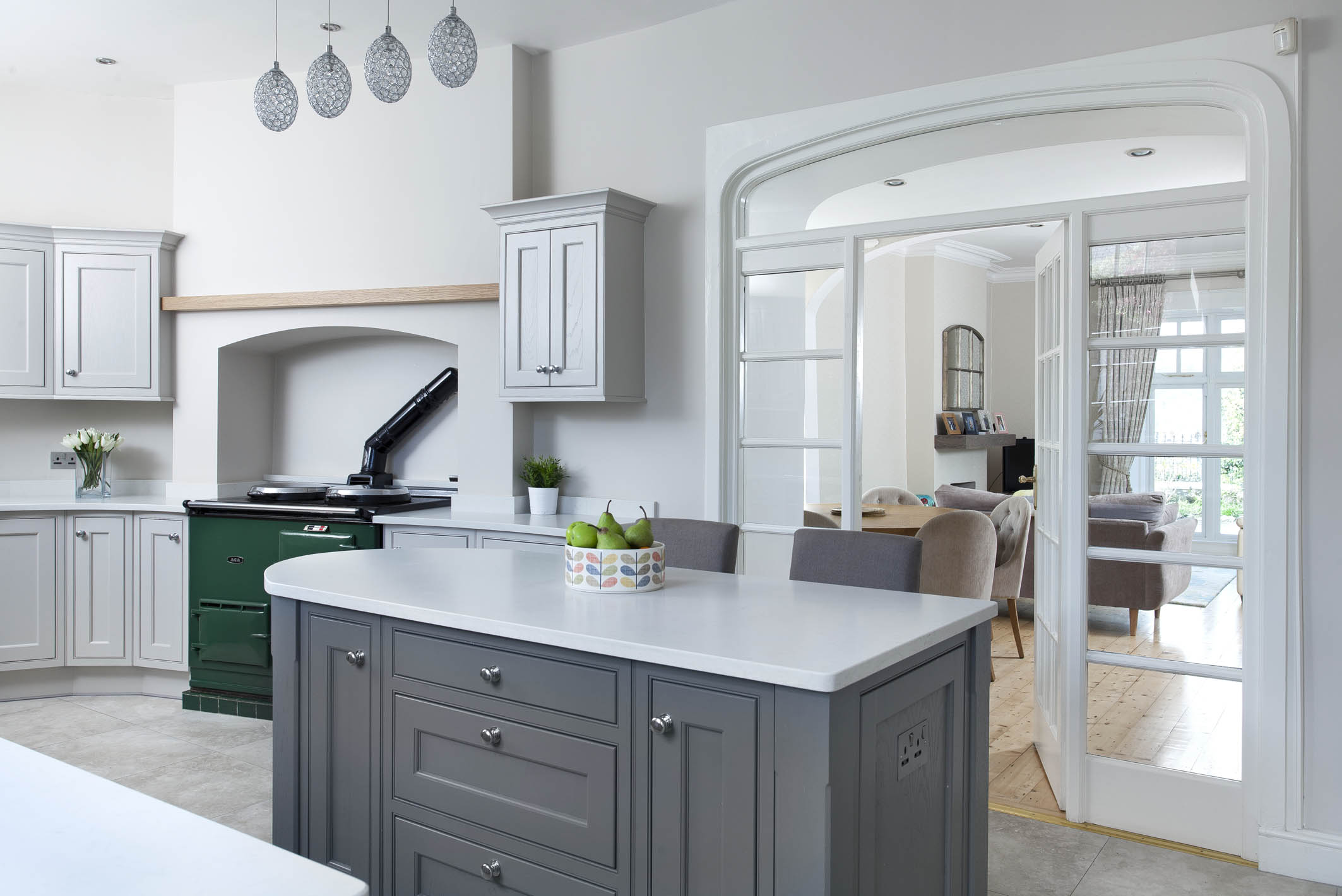 Lamp Room Grey Farrow And Ball. Strong White And Pavilion Grey ...