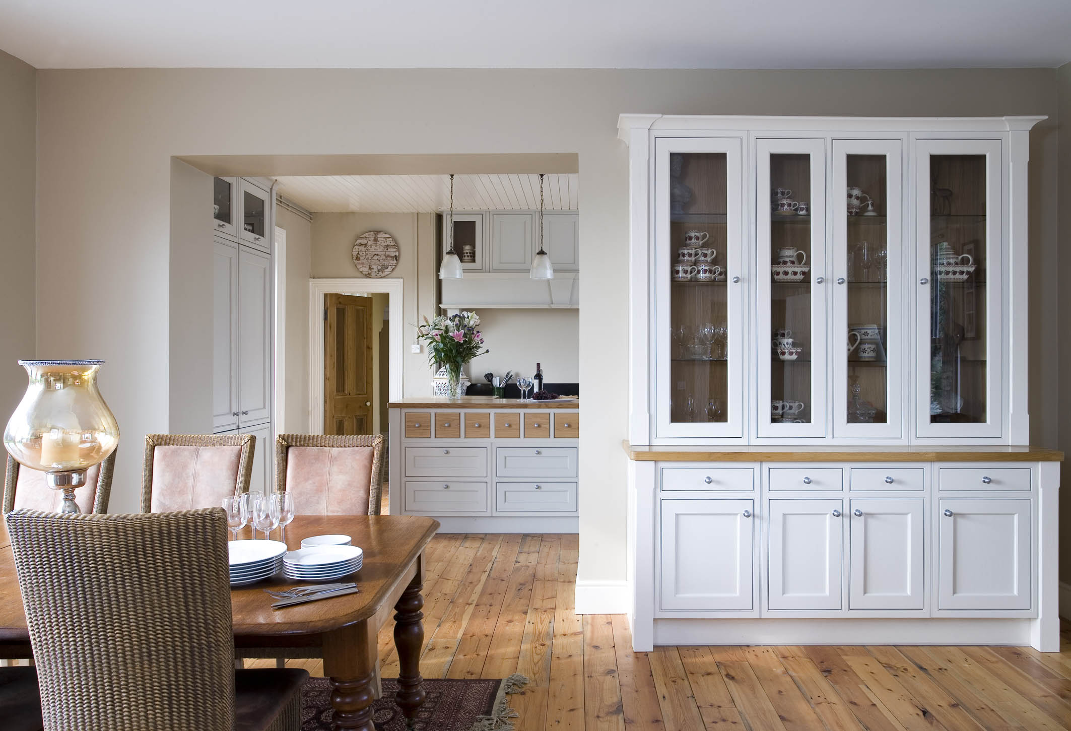 Irish Kitchen Designs Part - 47: Painted Inframe Kitchen In Tipperary