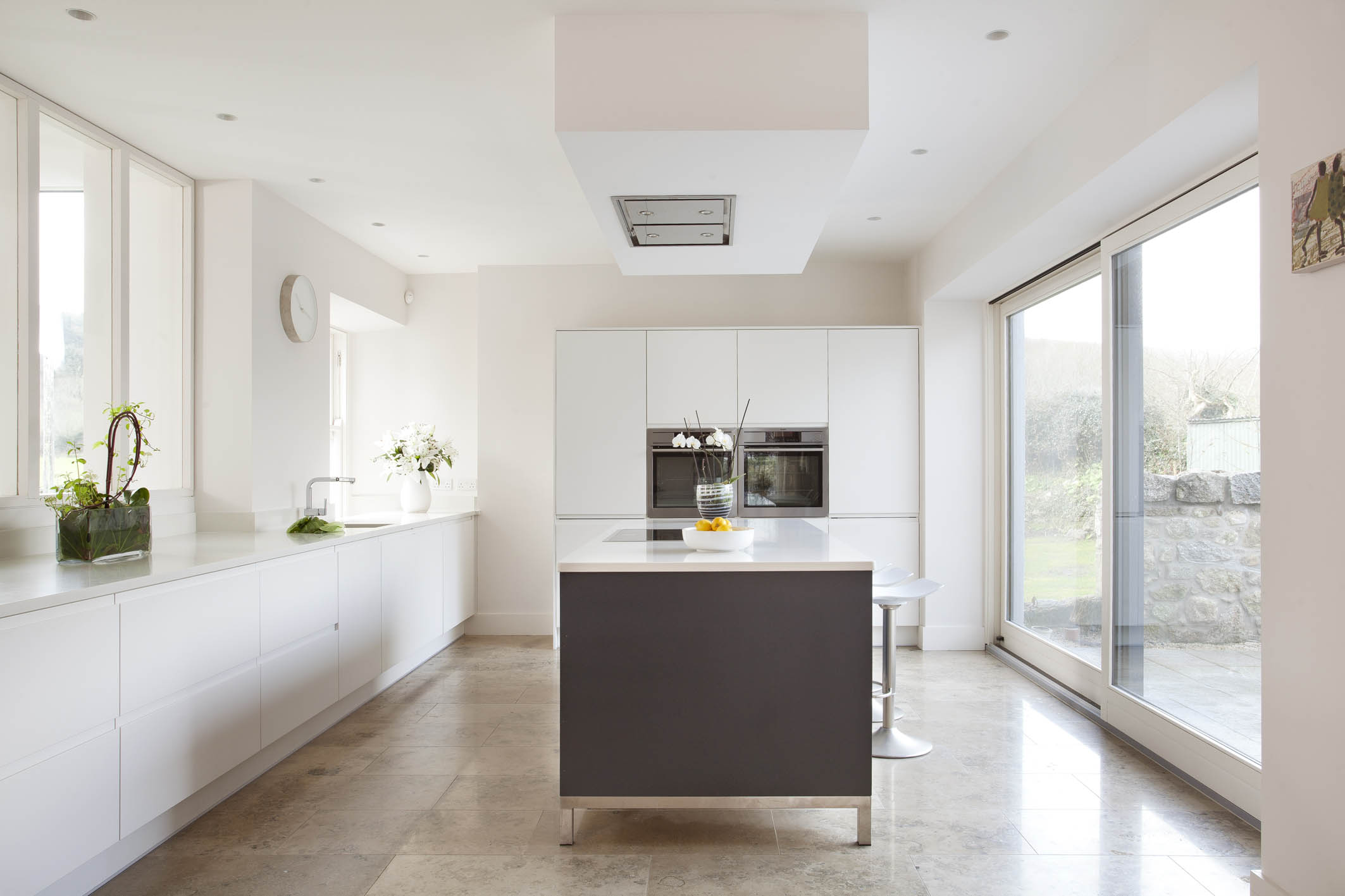 Contemporary German Style Dublin Kitchen Painted In