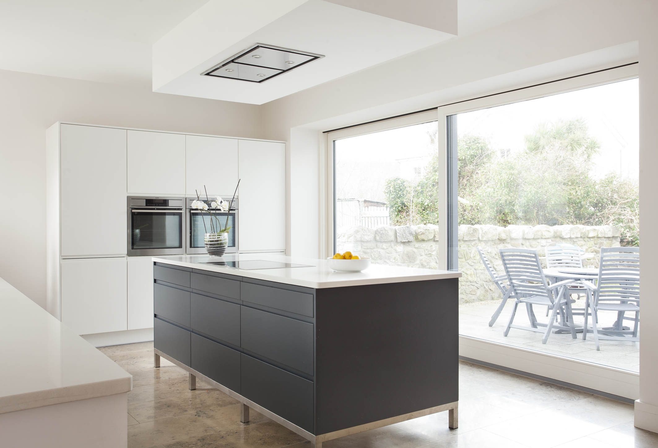 Contemporary german style dublin kitchen painted in for Kitchen design dublin